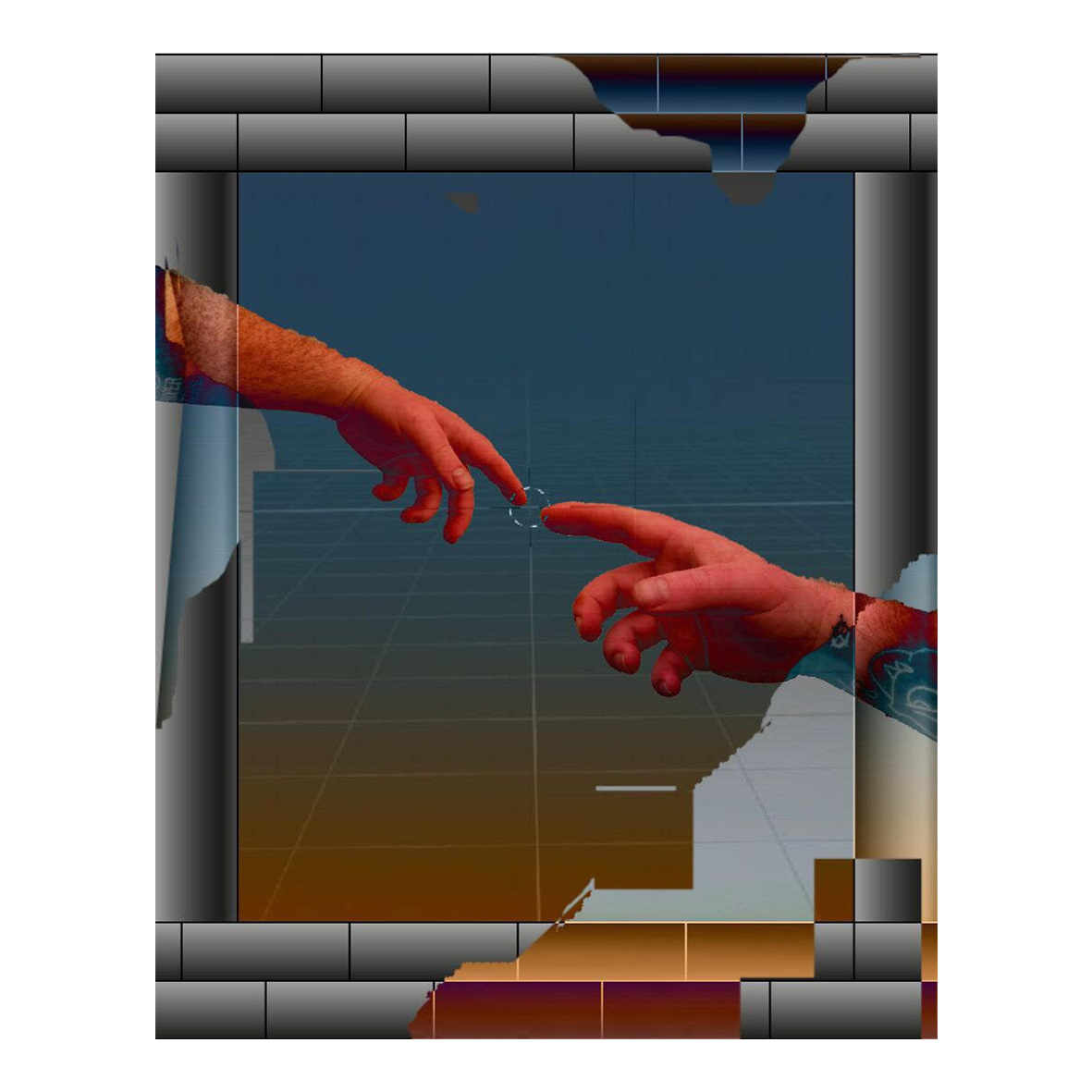 Sean Rennison Phillips Digital Genesis, (2020) Digital image